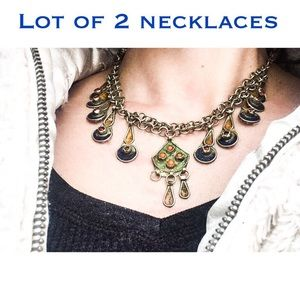 Jewelry - *5$ OFF! ON SALE! 2 vintage East Indian necklaces
